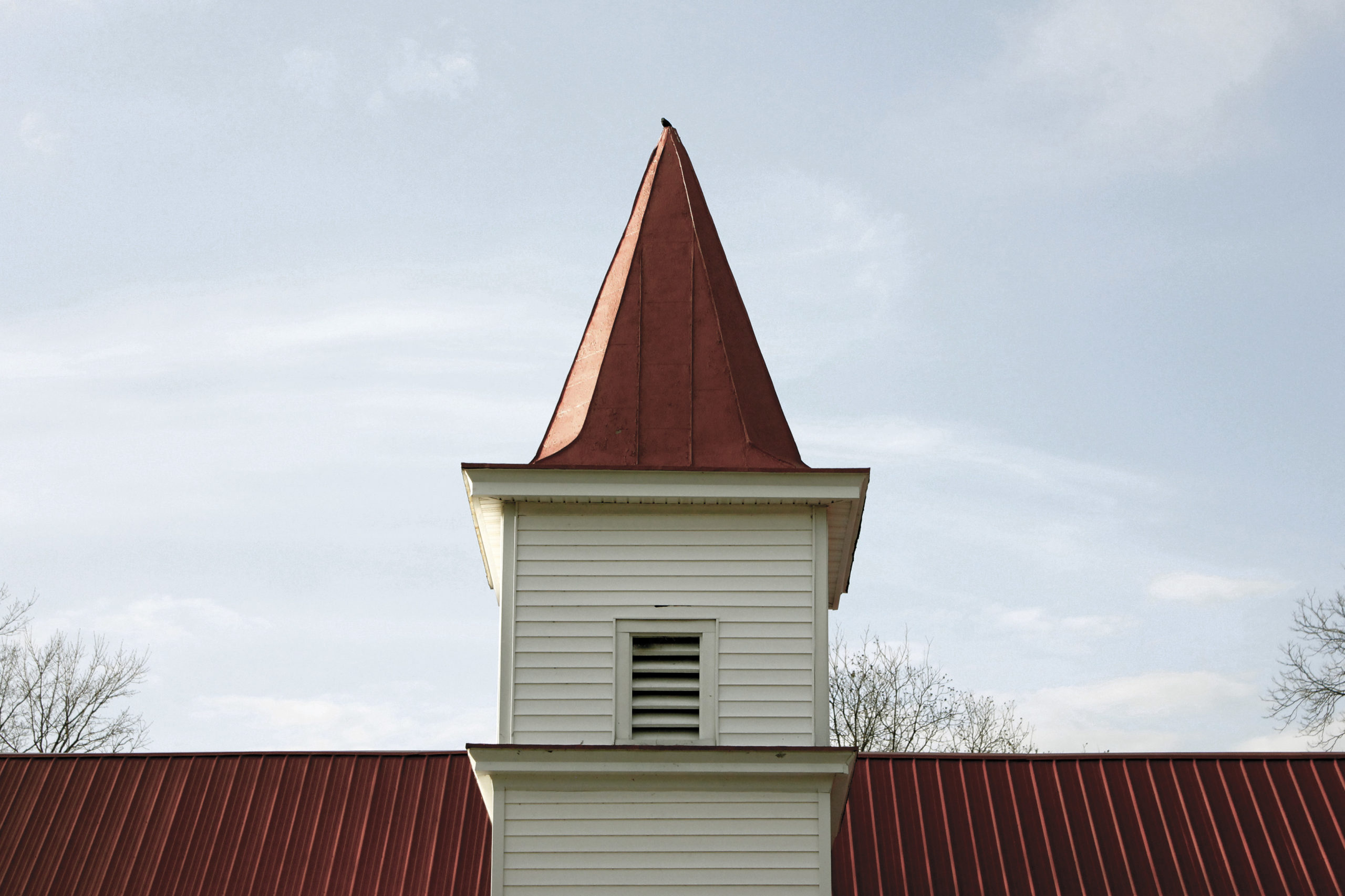 Crow on Steeple, West Point